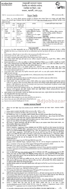 Bangladesh Forest Job CIrcular 2021