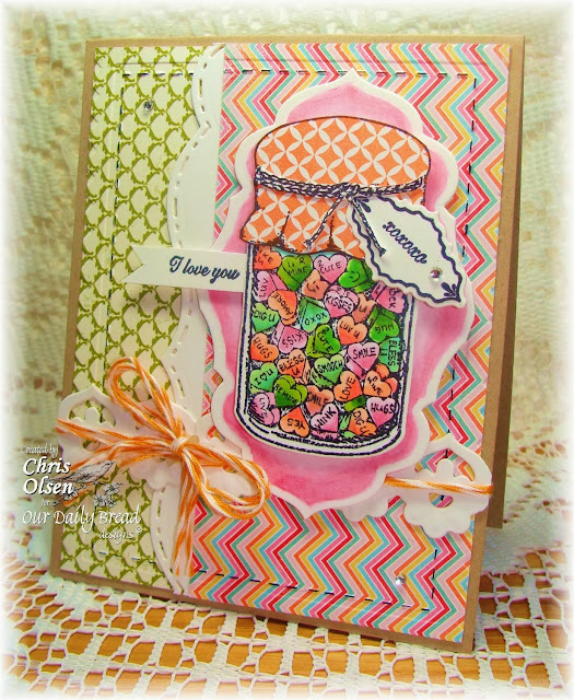 Our Daily Bread Designs, Canning jars, Canning Jar fillers 1, Canning Jars 2, ornate sentiments, Ornate borders and flowers, Canning jars dies, Antique Labels and Borders, Chris Olsen