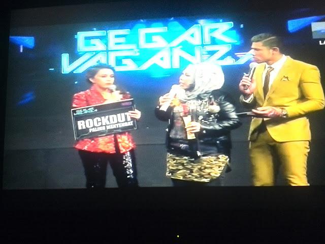 Anugerah RockDut Paling Menyengat Minggu 6 Gegar Vaganza 2016