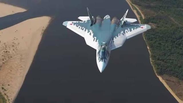 Amerika Bobol, Jet Tempur Siluman Su-57 Rusia Terobos 6 Pangkalan Militer AS Tanpa Terdeteksi