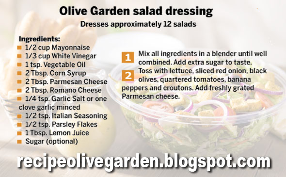 Passion of your business olive garden salad dressing - Olive garden salad dressing recipe secret ...