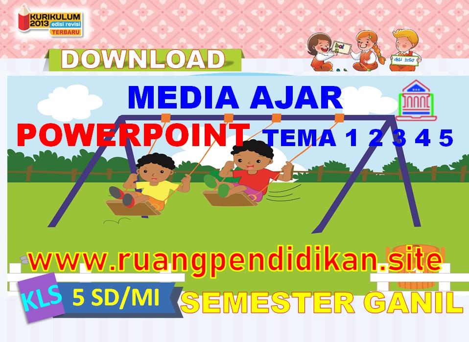 Media Ajar PowerPoint Semester 1