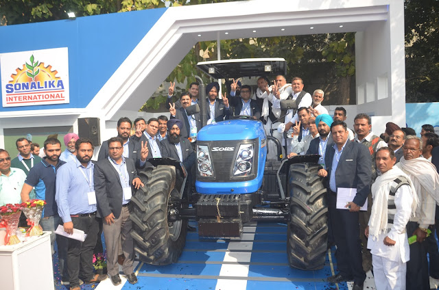Sonalika ITL showcases its product power at CII Agro Tech with Solis 120