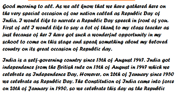 independence day essay in english