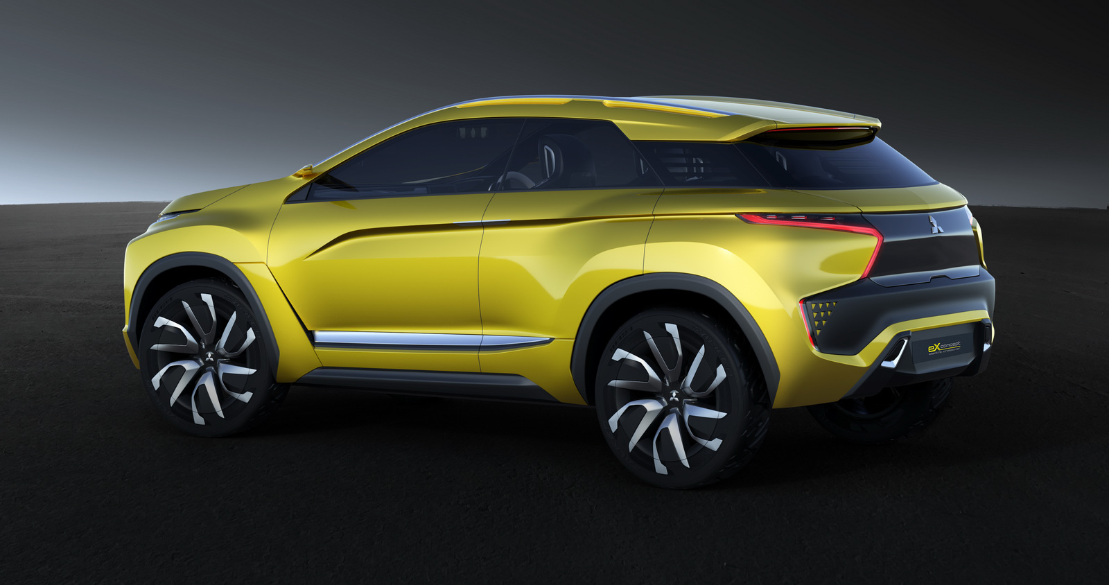 Mitsubishi Previews Their First Fully Electric SUV With ...