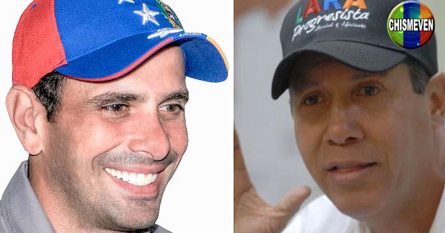 Henry Falcón propone una alianza electoral con Henrique Capriles y Stalin González