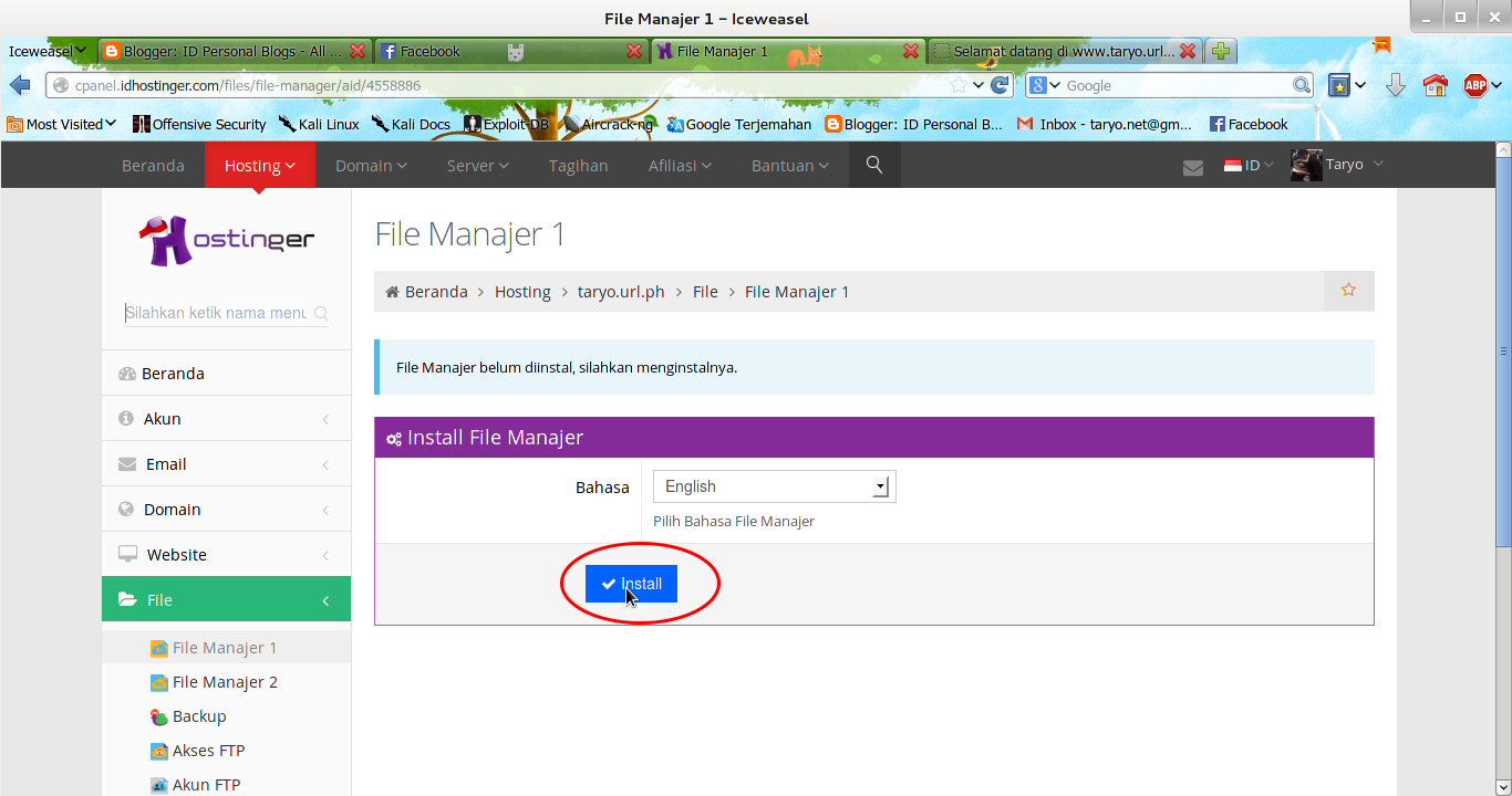 Langkah Mudah Upload dan Edit File di IDhostinger (New!)