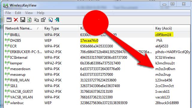 هذا البرنامج يعطيك جميع كلمات السر لشبكات الواي فاي المسجلة في حاسوبك ، معرفة كلمة سر الواى فاي المحفوظة بدون روت ، برنامج كشف كلمة سر الواي فاي بدون روت ، معرفة كلمات السر المخزنة على الاندرويد بدون روت ، كيف معرفة كلمة سر الواى فاي في الموبايل ، برنامج إظهار باسورد الواى فاي للاندرويد بدون روت  ، معرفة كلمة سر الراوتر المتصل به ، افضل طريقة لمعرفة كلمة سر الواى فاي ، إظهار كلمة السر لأي شبكة واي فاي wifi على حاسوبك