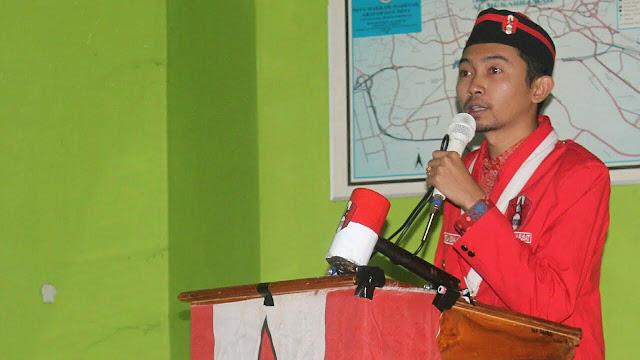 Ketua DPP GMNI Periode 2017-209, Robaytullah Kusuma Jaya