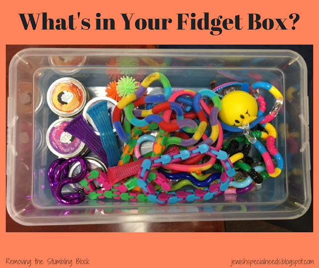 What's in Your Fidget Box; Removing the Stumbling Block