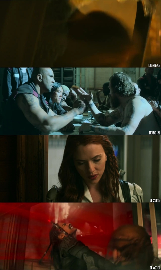 Black Widow 2021 BRRip 720p 480p Dual Audio Hindi English Full Movie Download