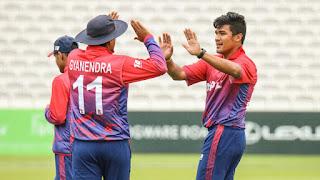 UAE vs Nepal 3rd T20I 2019 Highlights