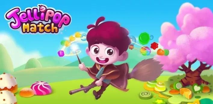 مرحبًا بك في عالم Jellipop Match! قم ببناء هذه الجزيرة الاستوائية المليئة بالمرح في جنتك الخاصة .