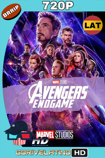 Avengers: Endgame (2019) BRRip 720p Latino-Ingles MKV