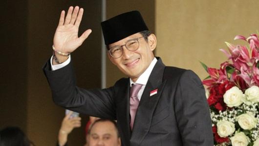 Jokowi Sindir Paloh Rangkul Sohibul, Sandiaga: Saya Suka Berpelukan