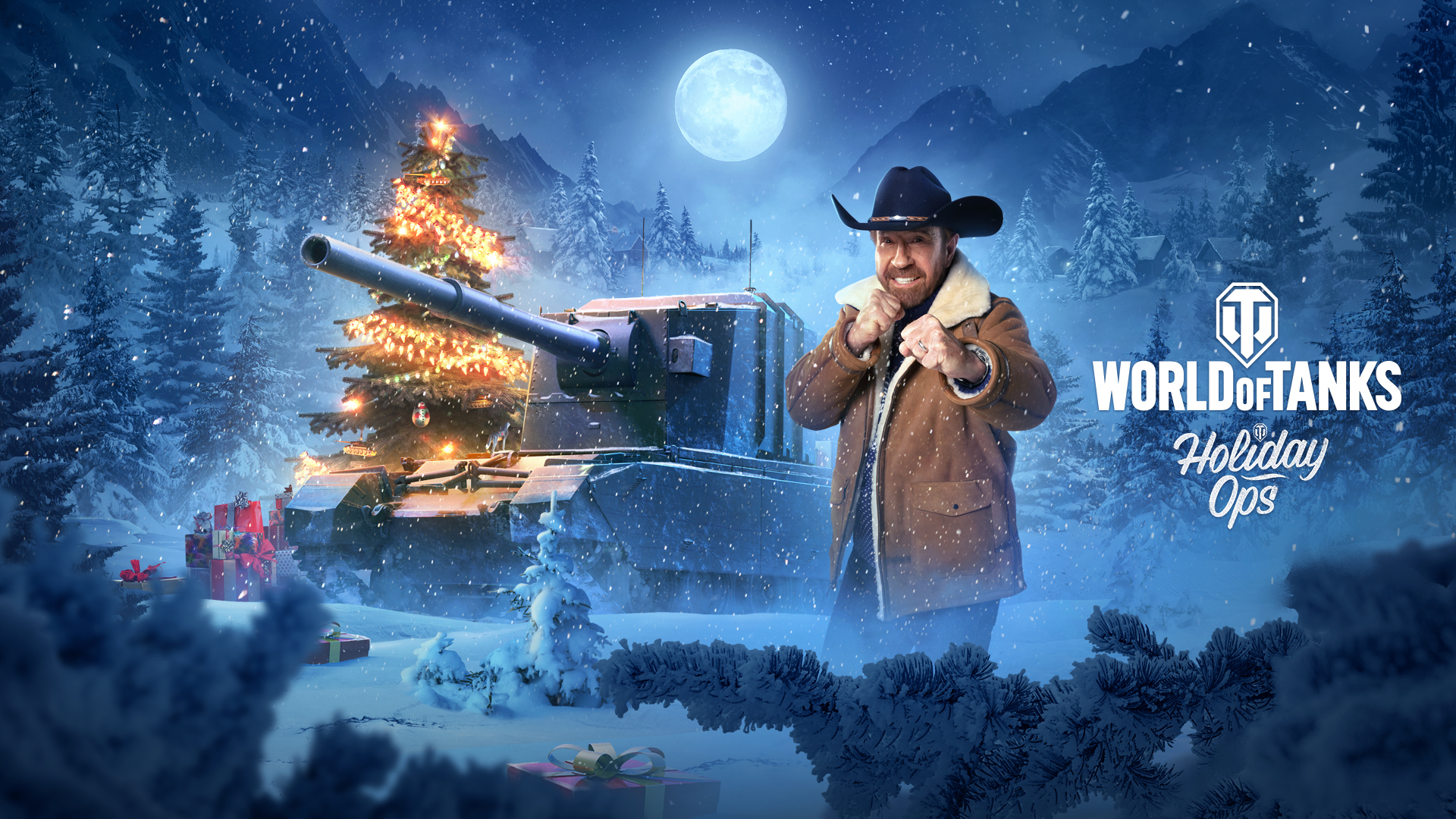 Chuck Norris Brings the Festive Cheer to World of Tanks