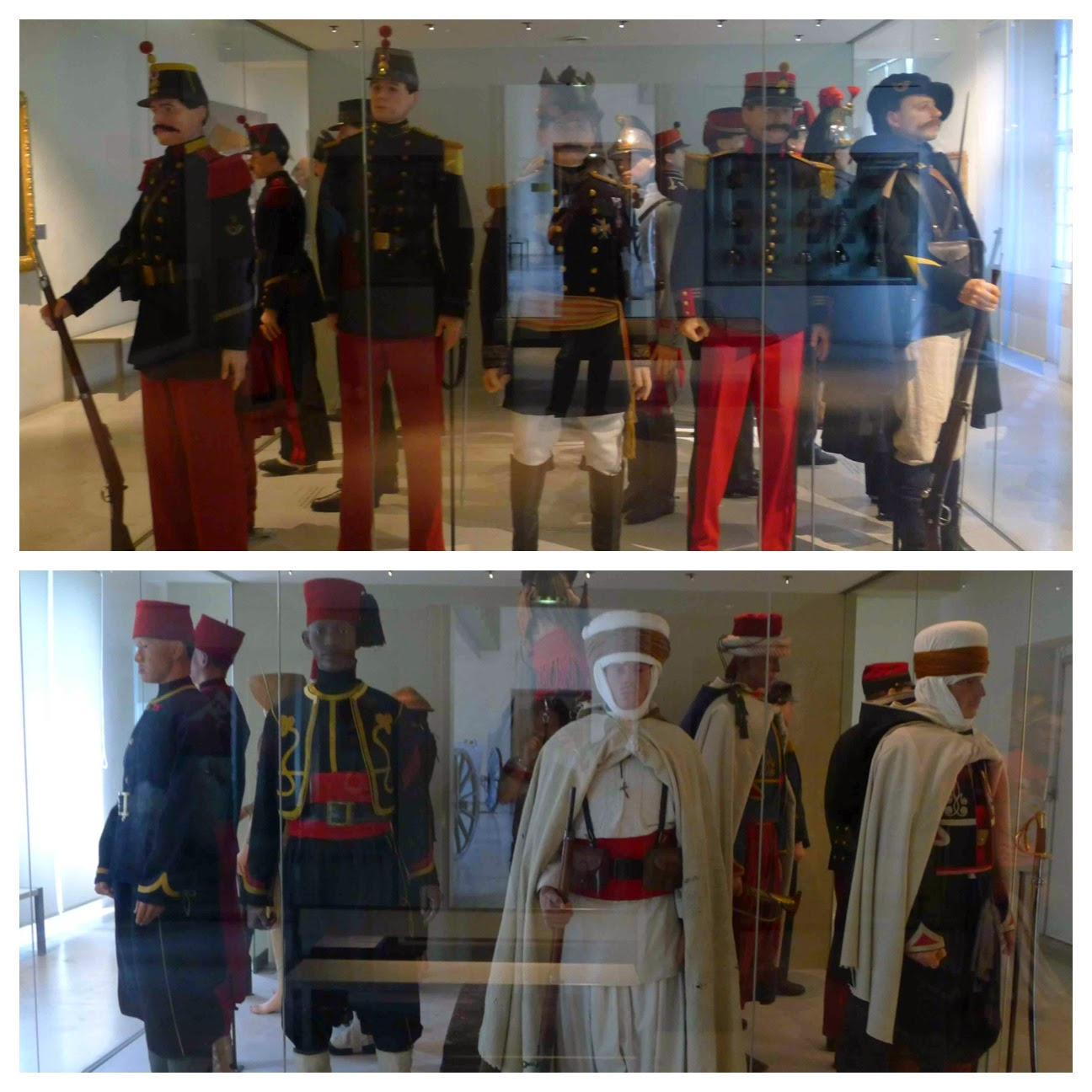 Prussian and Algerian Uniforms