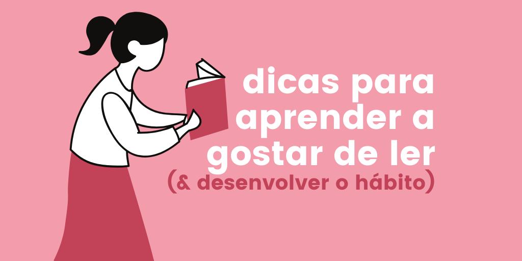 aprender a gostar de ler