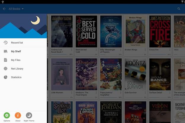 EPUB, PDF ανάγνωση δωρεάν Android ελληνικά βιβλία
