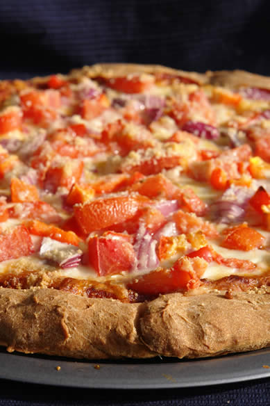Gluten-Free Pizza Crust Recipe : Thick Crust