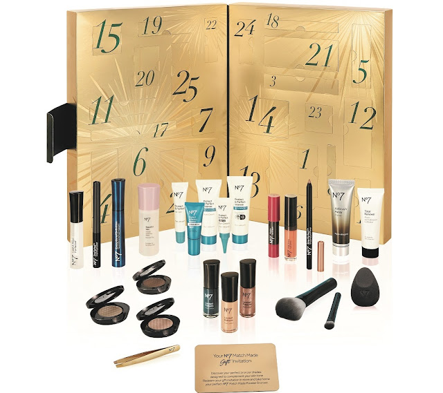 Boots No7 Beauty Advent Calendar Contents