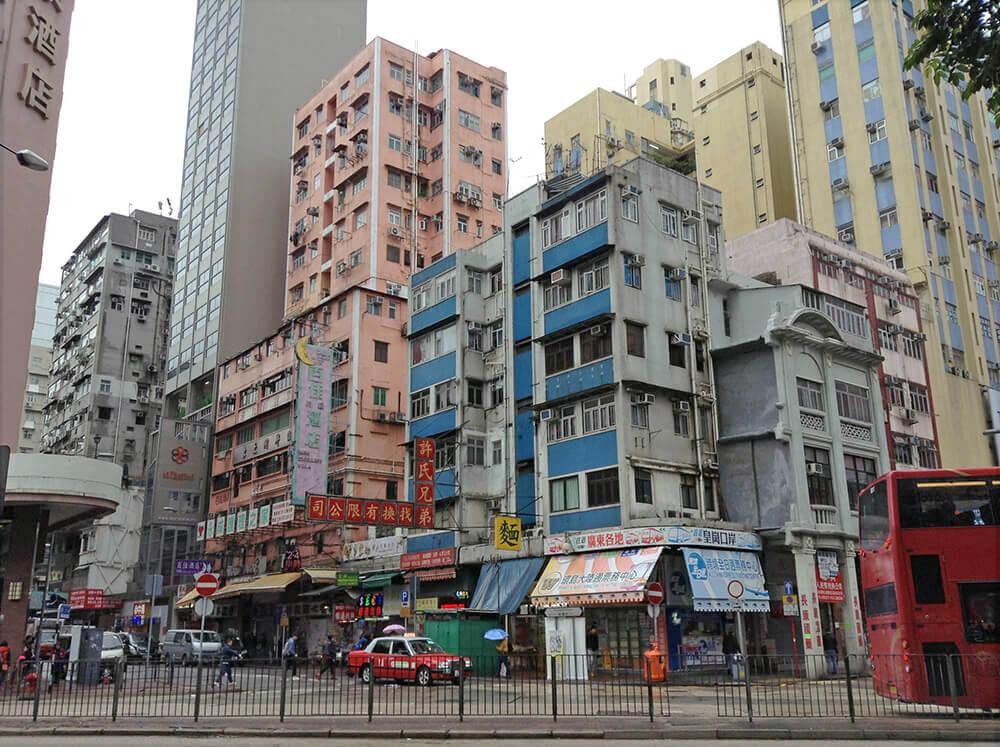 Red Hong Kong Taxi