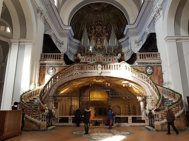 Altare della Basilica di Santa Maria alla Sanità-Rione Sanità-Napoli