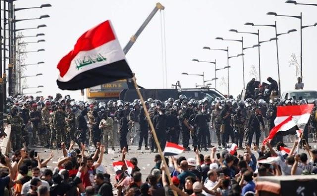 دم الشهداء في انتفاضة تشرين لها ثمن يا ساسة العراق