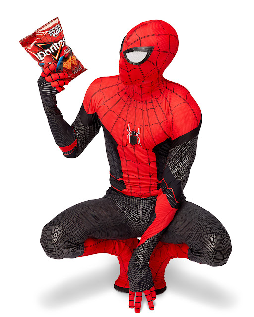 "Spider-Man: Far From Home And Doritos Join Forces to Design ""Incognito Doritos"" Bags that Covertly Transform into Official Replica of the Spider-Man Suit"