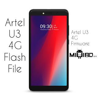 Artel U3 4g flash file