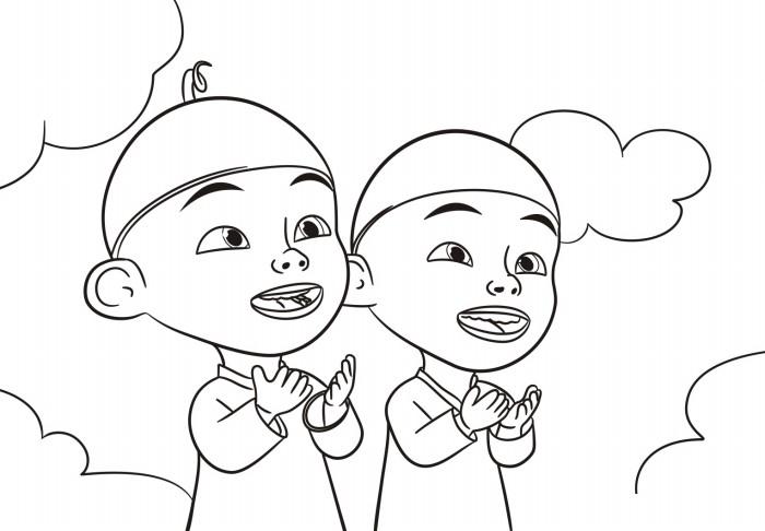 5200 Gambar Cartoon Keren Hitam Putih HD Terbaru