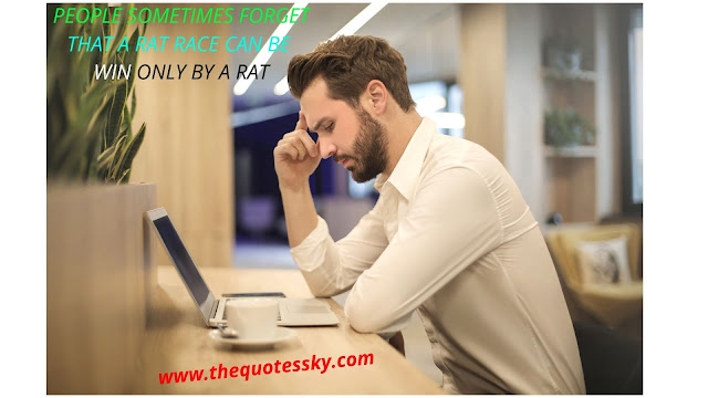 200+ Winning rat race motivational quotes and captions for life