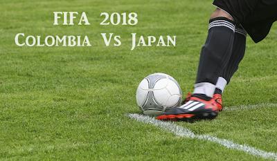 FIFA 2018 Colombia Vs Japan Live Telecast Info