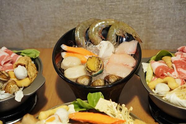 台南安平區美食【老城門佰元鍋物】餐點介紹-超值海鮮盤