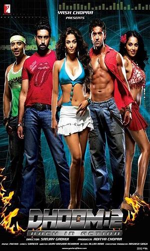 Dhoom 2 (2006) 999Mb Full Hindi Movie Download 720p Bluray