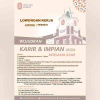Lowongan Kerja Holland Bakery Bandung 2021