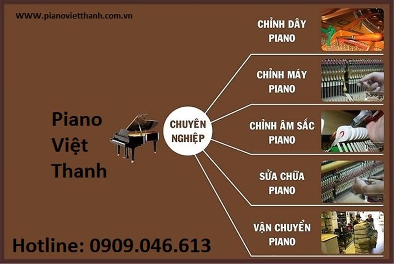 Lợi ích của việc lên dây đàn Piano thường xuyên