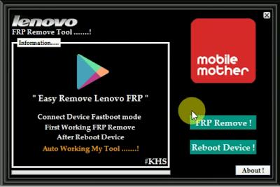 Telecom Care: All Models Lenovo FRP Unlock Tool Download