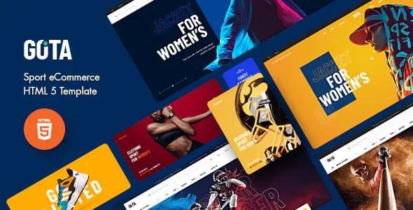 Best Sport eCommerce HTML5 Template