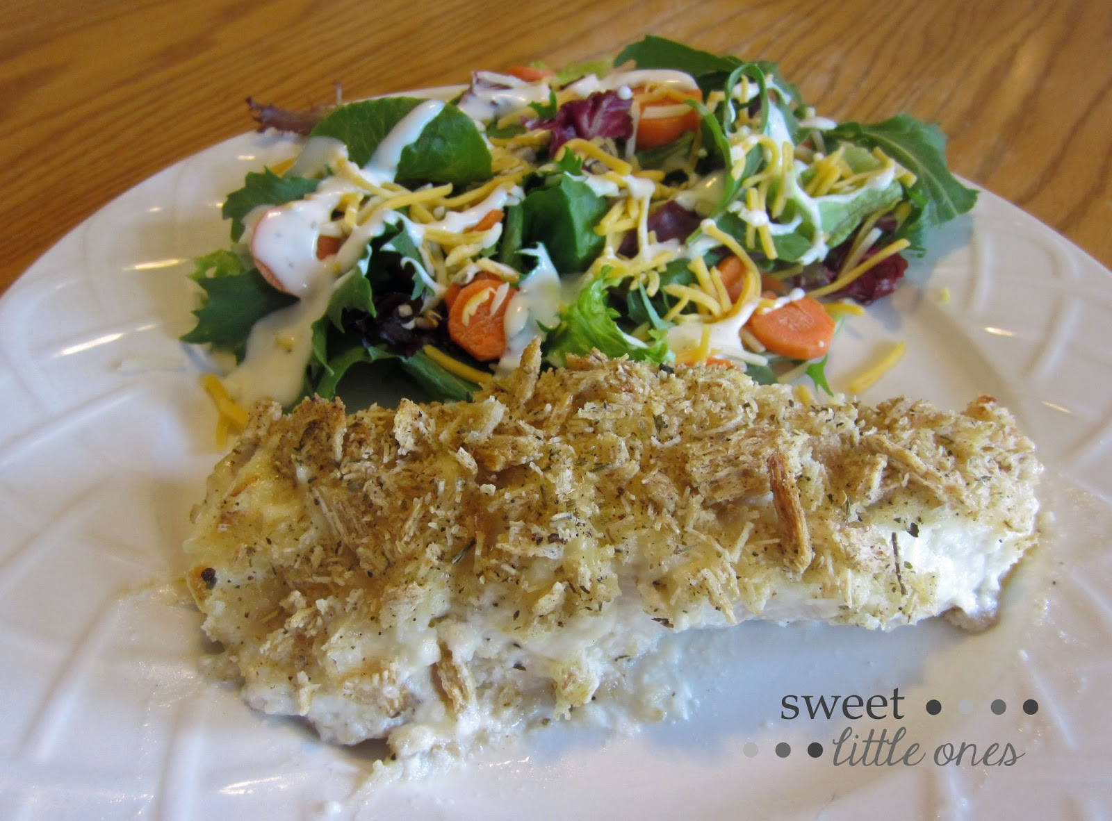 Easy Dinner Recipe - Chicken  www.sweetlittleonesblog.com