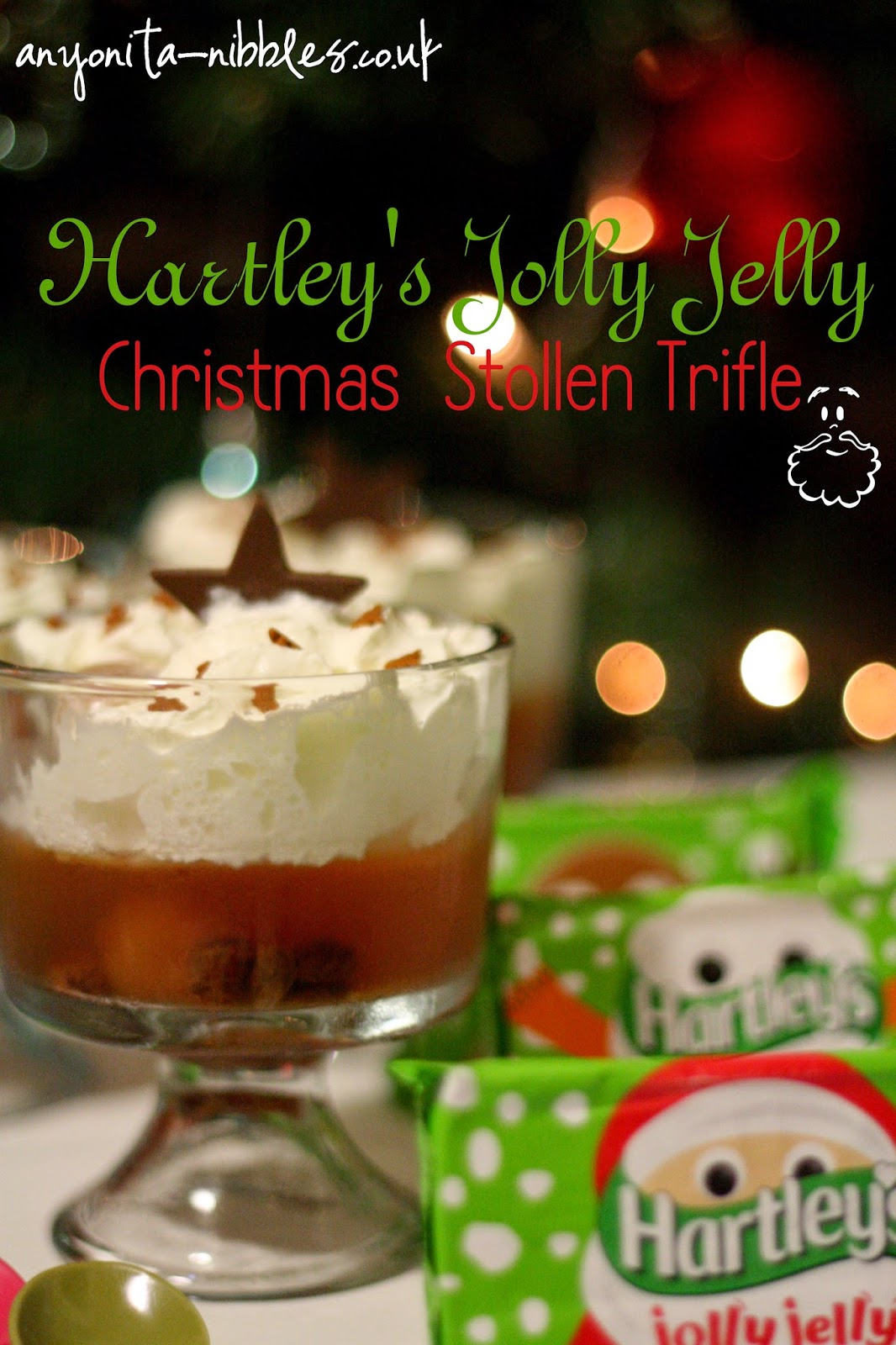 Hartley's Jolly Jelly Christmas Stollen Trifle from Anyonita-nibbles.co.uk