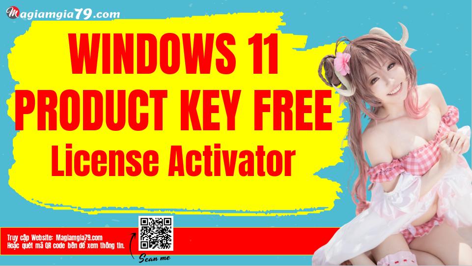 Windows 11 product key free