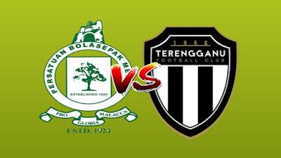 Live Streaming Melaka United vs Terengganu Liga Super 15.6.2019