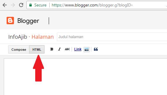 Cara Membuat Alat Parse HTML Pada Halaman Blog Pribadi