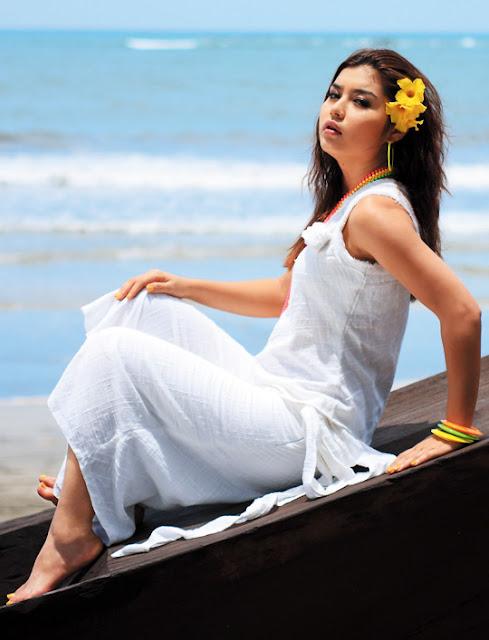 Return theme myanmar model beach photos criticism write