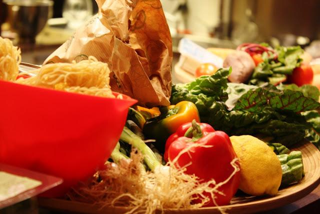 Gemüse zum Selbst Kochen im Kitchen12 in Graz - Graz kulinarisch entdecken
