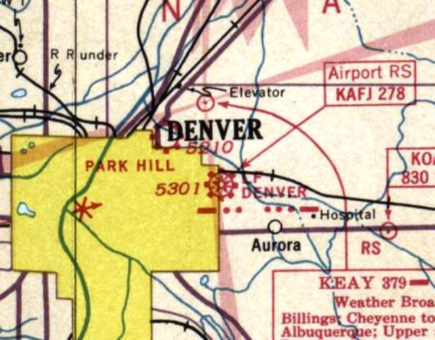 Aeronautical Chart in The 1990s | Pilot Online