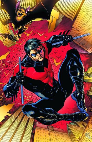 Nightwing es parte de la Bat-Familia