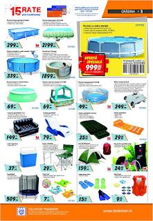 CATALOG DEDEMAN 20 iunie - 17 iulie 2019 reduceri piscine gonflabile de gradina