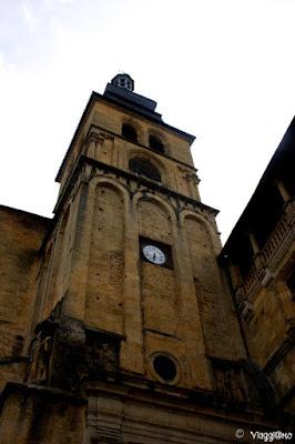 Il campanile del XII secolo della Cattedrale di Sarlat